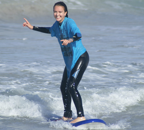 Kids School Holiday Surfing