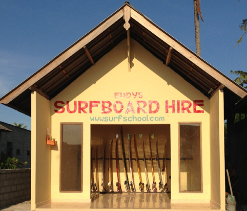 Eddy's Surfboard Hire