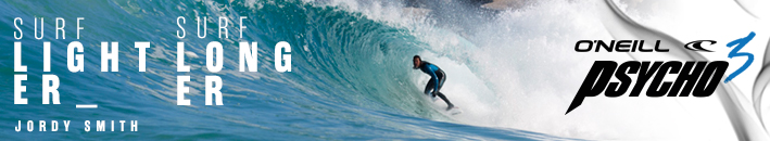 We provide O'Neill Wetsuits